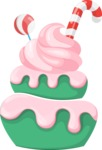 Cupcake Vector Graphics Maker - Candy cupcake