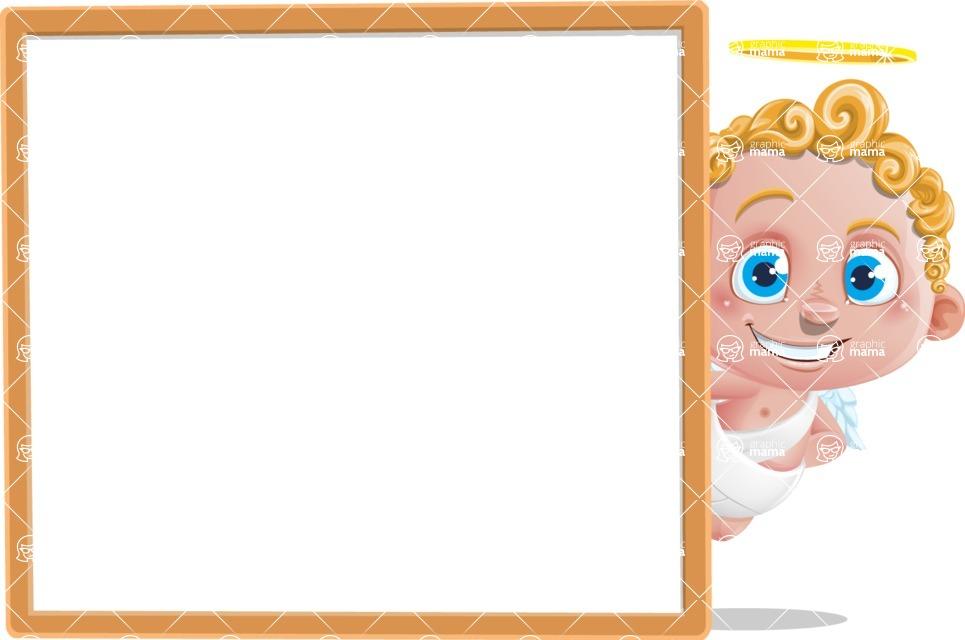 Cupid Cartoon Character - Presentation 4