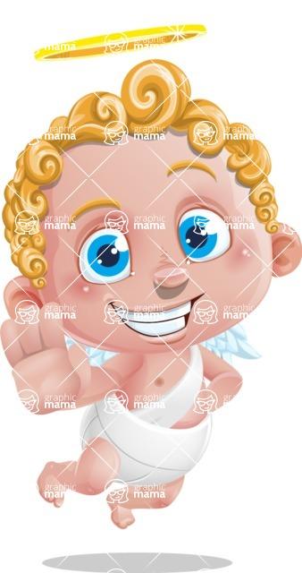 Cupid Cartoon Character - Stop 1