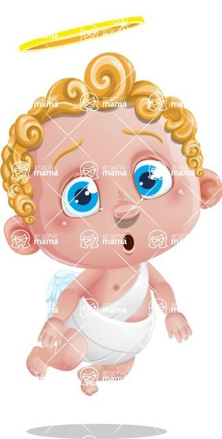 Cupid Cartoon Character - Stunned
