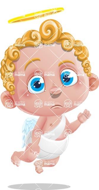 Cupid Cartoon Character - GoodBye