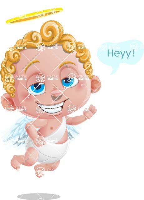 Cupid Cartoon Character - Hey Heyy