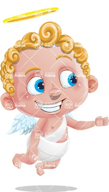 Cupid Cartoon Character - Show 1