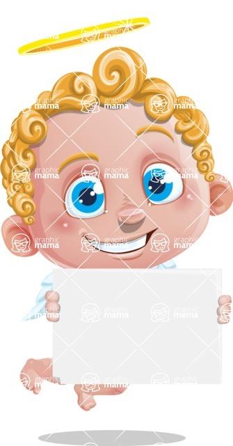 Cupid Cartoon Character - Sign 3