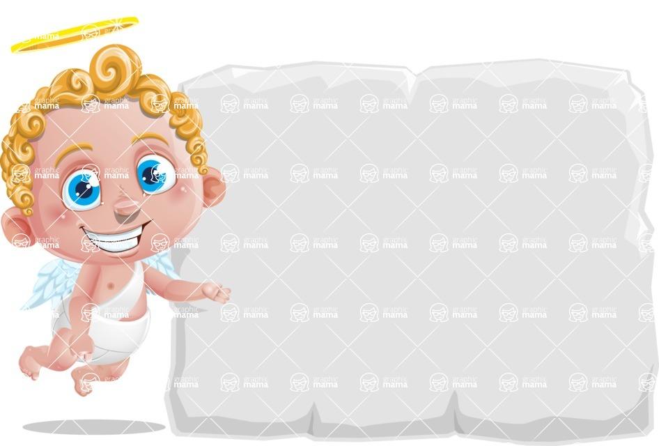 Cupid Cartoon Character - Presentation 1