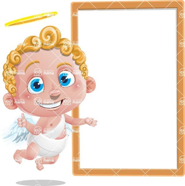 Cupid Cartoon Character - Presentation 3