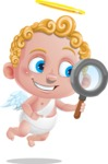 Cupid Cartoon Character - Cartoon Cupid Searching