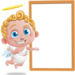 Cupid Cartoon Character - Presentation 3