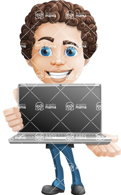 Curly Harley - Laptop