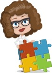 Cindy Smarty Curls - Puzzle
