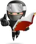 Hibiki the Flying Ninja - Book