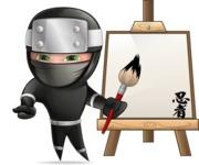 Hibiki the Flying Ninja - Artist