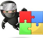 Hibiki the Flying Ninja - Puzzle