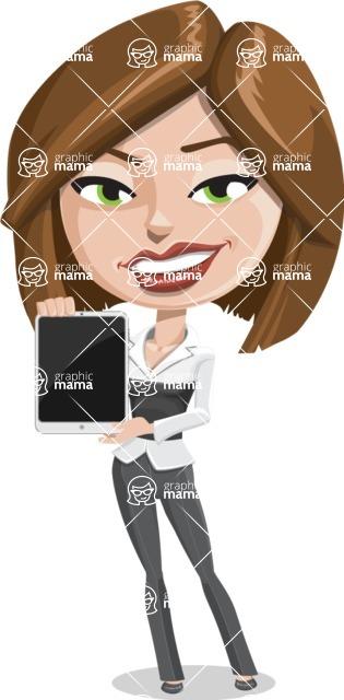 Clair as Lady Career - iPad 1