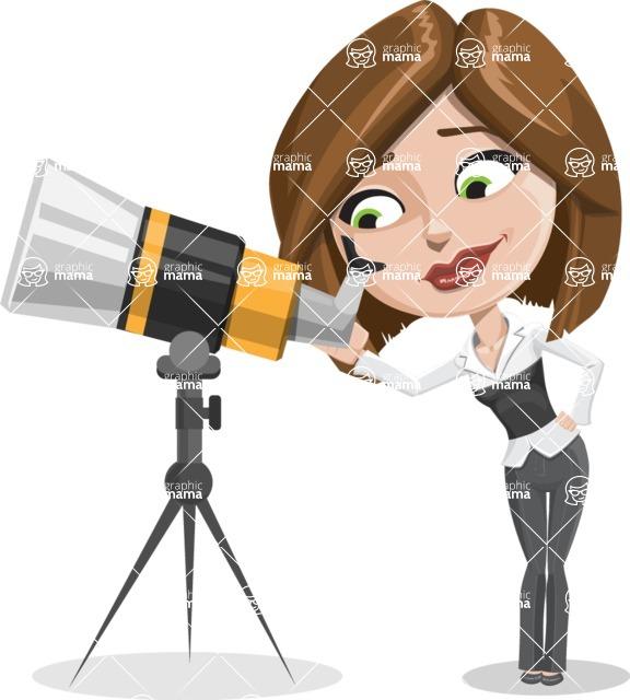 Clair as Lady Career - Telescope