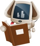 Cute Robot Pet Cartoon Character AKA MADIO The Puppy - Books