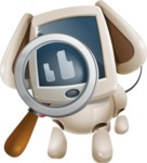 Cute Robot Pet Cartoon Character AKA MADIO The Puppy - Search