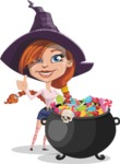 Braida Witchy - Cauldron With Sweets