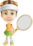 Little Missy Mia - Tennis