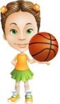 Little Missy Mia - Basketball