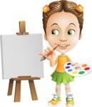 Little Missy Mia - Painting