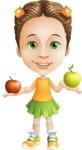 Little Missy Mia - Apples