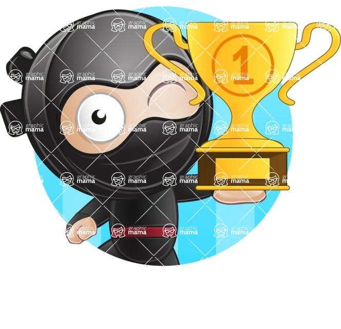 Ami the Small Ninja - Shape 1