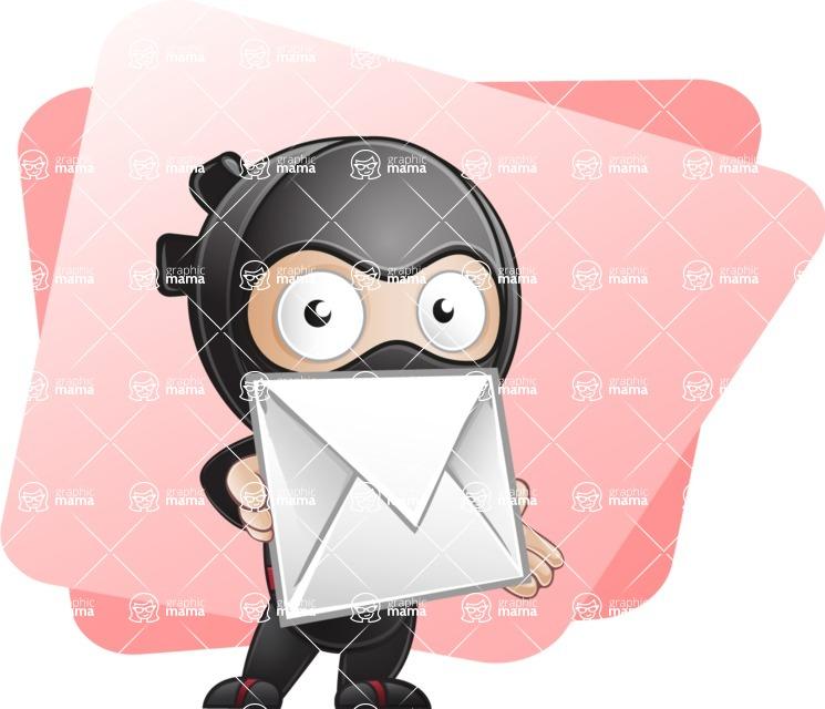 Ami the Small Ninja - Shape 5