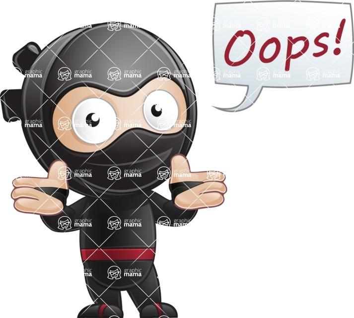 Ami the Small Ninja - Oops