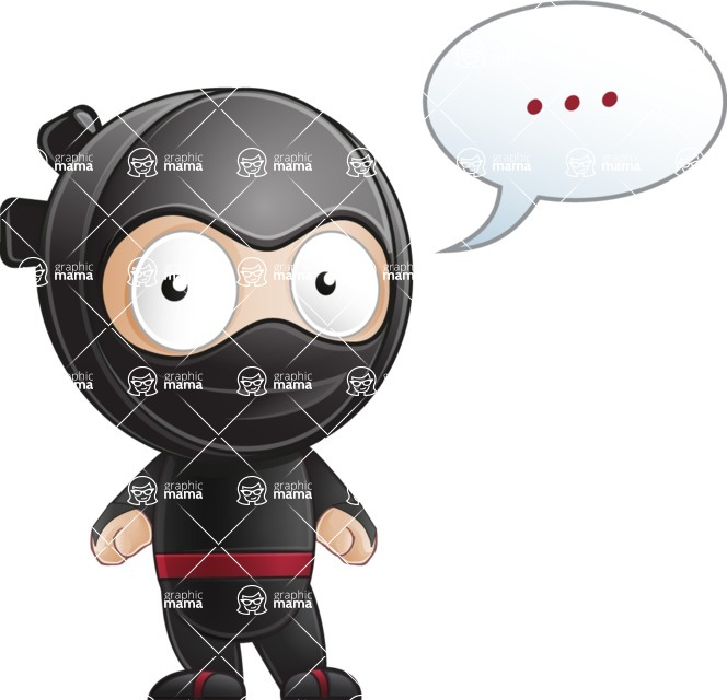 Ami the Small Ninja - Blank