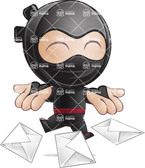 Ami the Small Ninja - Mail 1