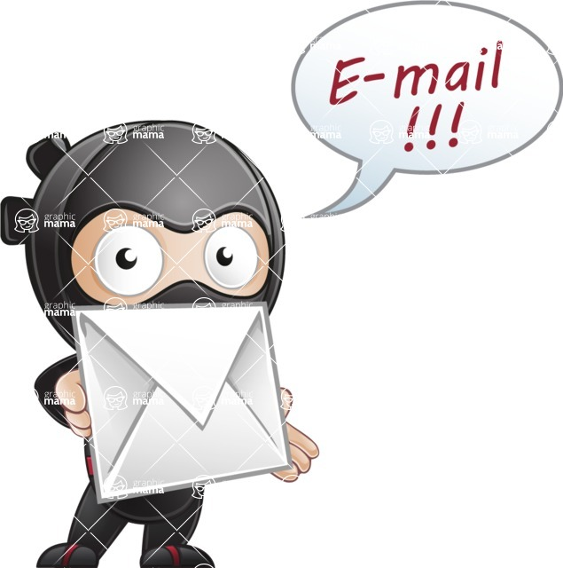 Ami the Small Ninja - Mail 2