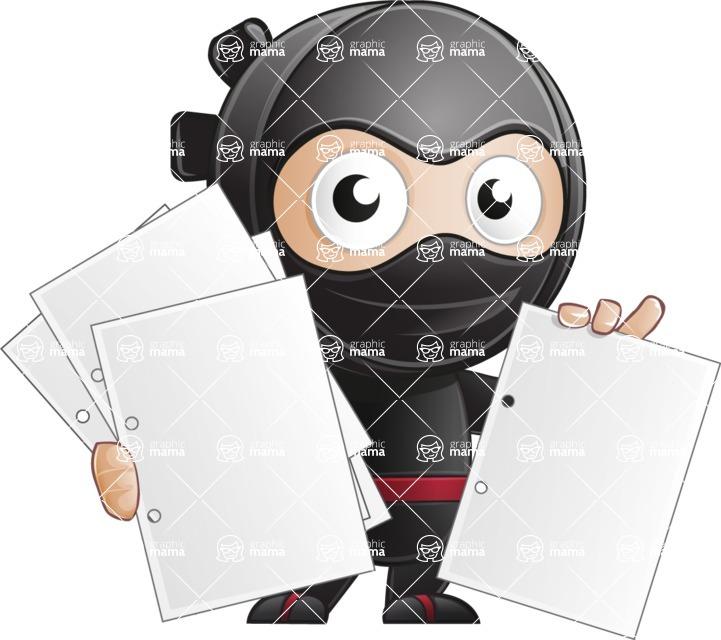 Ami the Small Ninja - Note 3