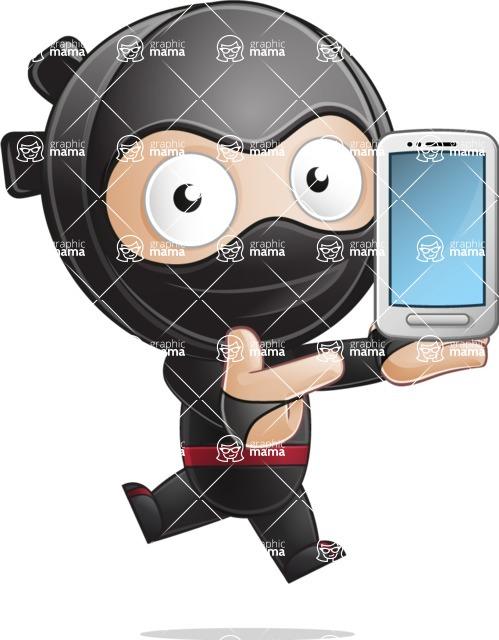 Ami the Small Ninja - Smartphone 1