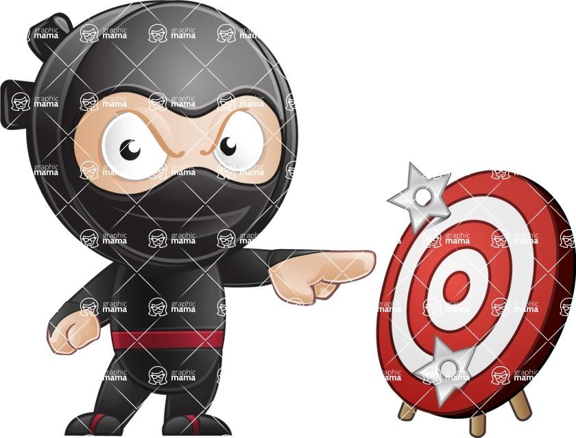 Ami the Small Ninja - Target