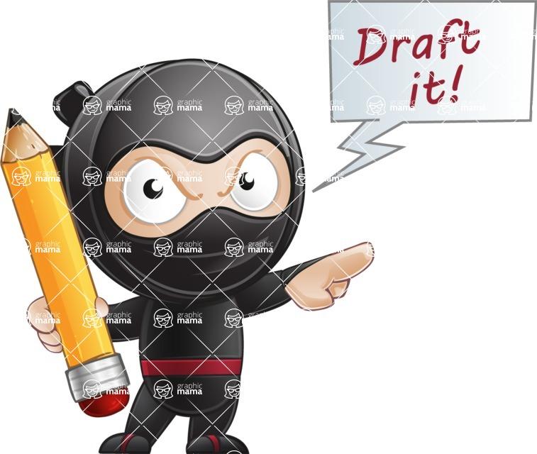 Ami the Small Ninja - Draft