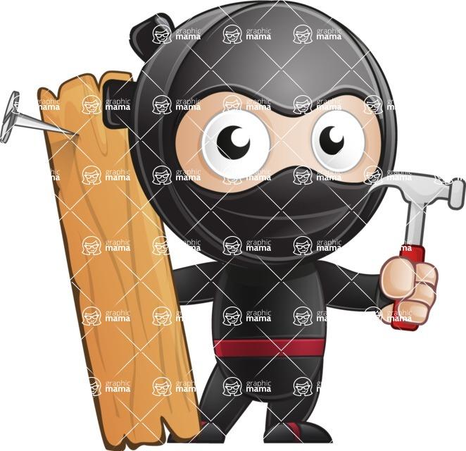 Ami the Small Ninja - Repair