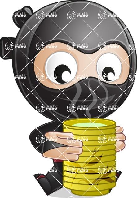 Ami the Small Ninja - Tea