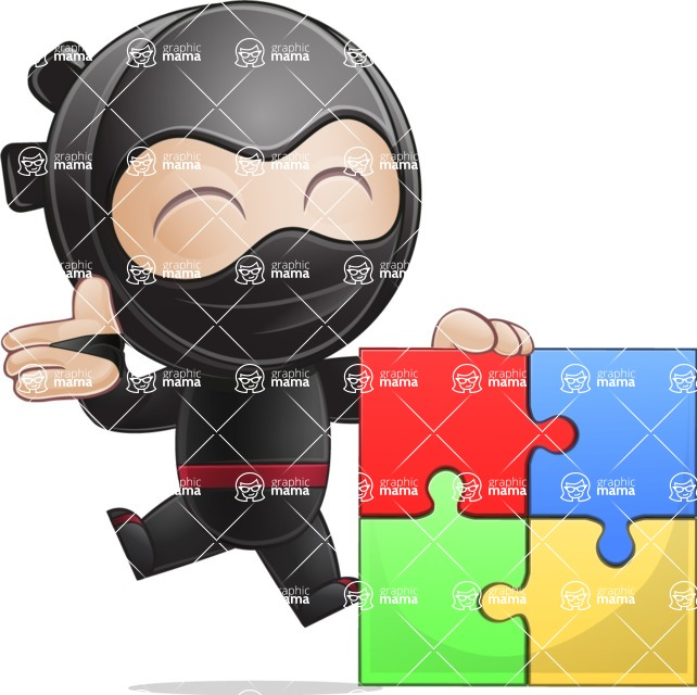 Ami the Small Ninja - Puzzle