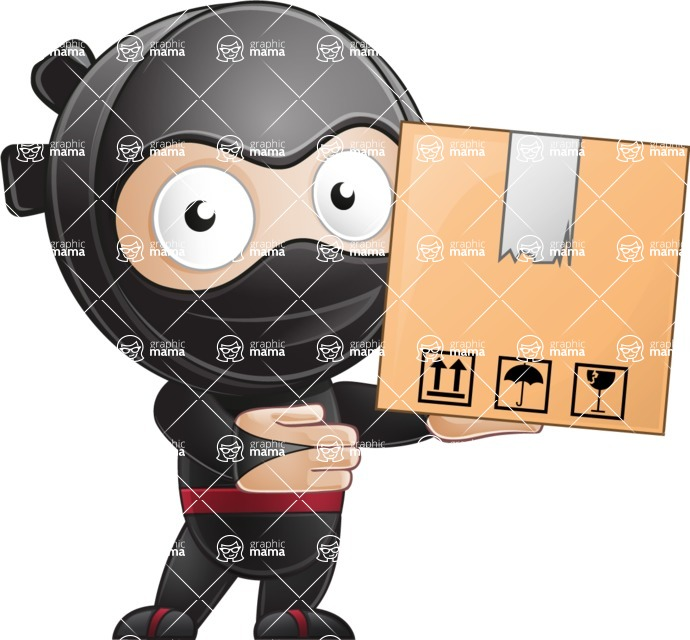 Ami the Small Ninja - Delivery 1