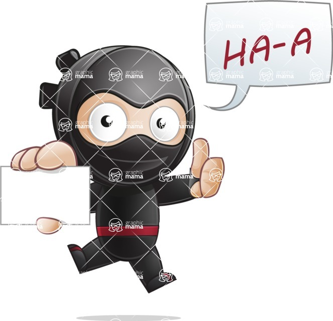 Ami the Small Ninja - Sign 1