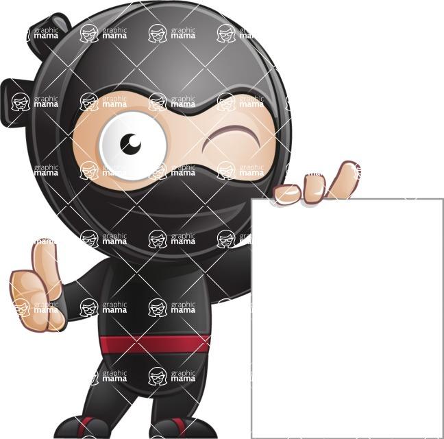 Ami the Small Ninja - Sign 5