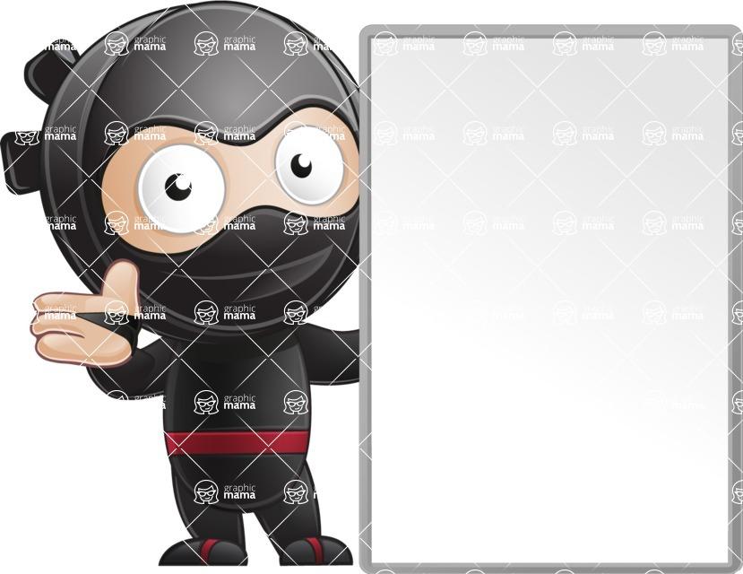 Ami the Small Ninja - Sign 6