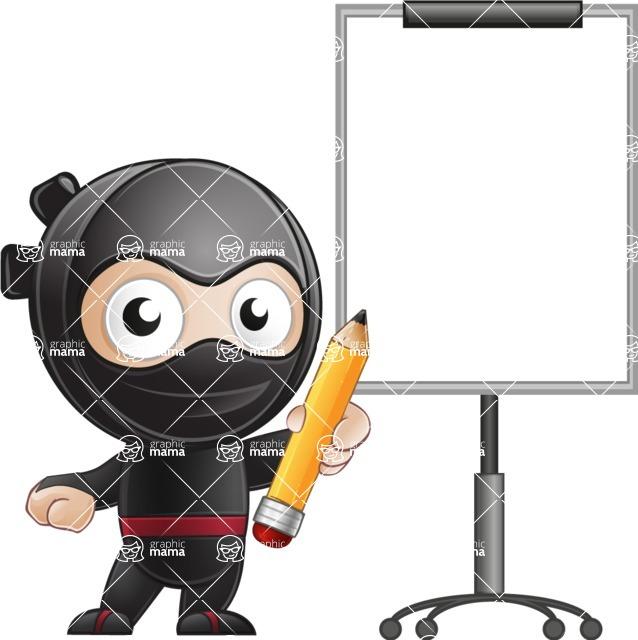 Ami the Small Ninja - Presentation 4