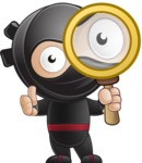 Cute Simple Style Ninja Cartoon Vector Character AKA Ami - Search