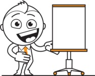 outline vector cartoon character - Presentation 1