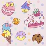 Cute Patterns - Mega Bundle - Soft Peach