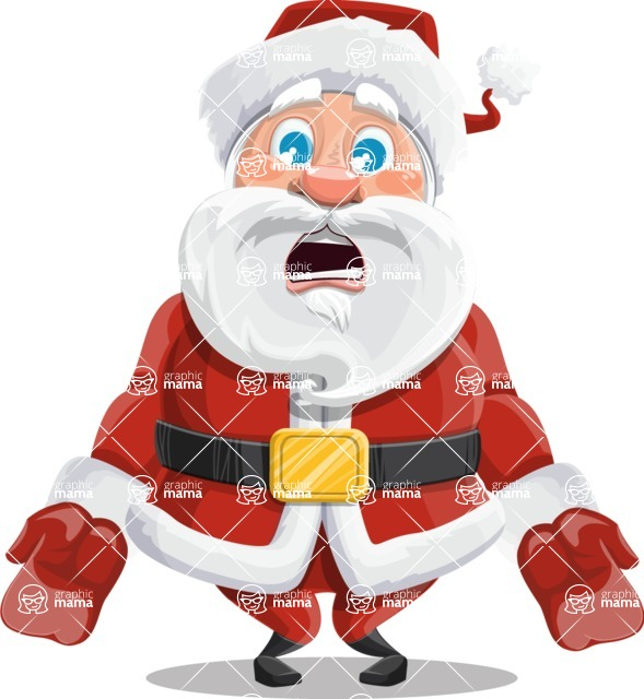 Mr. Claus North-pole - Stunned