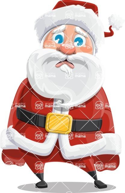 Mr. Claus North-pole - Sad