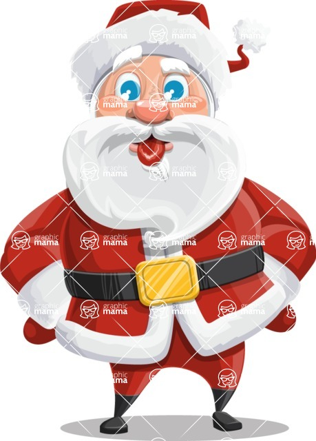 Mr. Claus North-pole - Making Face
